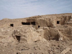 Quarries overlooking the city and necropolis of Antinoupolis